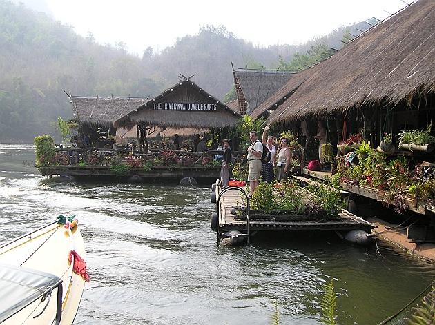 Tervetuloa hotelliin Kwai-joella