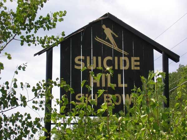 Hiihtomäki Suicide Hill